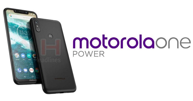 Moto One Power Leaked Images Show Notch Display, Dual Rear Camera Setup & More