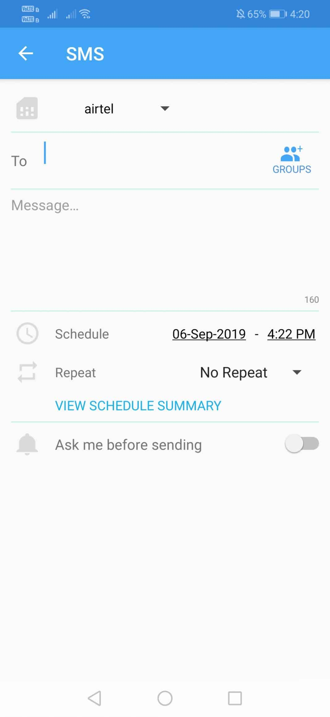 Using SKEDit Scheduling App