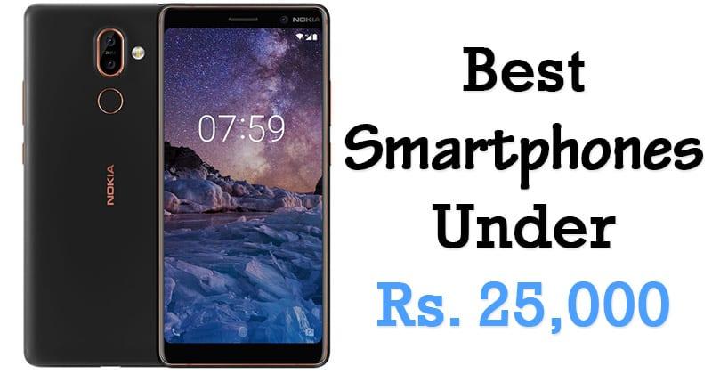 Top 10 Best Phones Under 25000 Rs In 2019