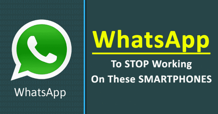 WhatsApp To Stop Working On These Smartphones: Here's The Full List