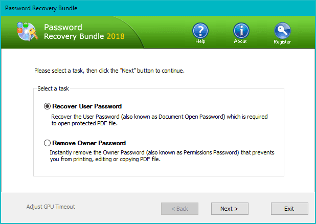 pdf password recovery - Best Tool to Recover Outlook, PDF and Windows Passwords