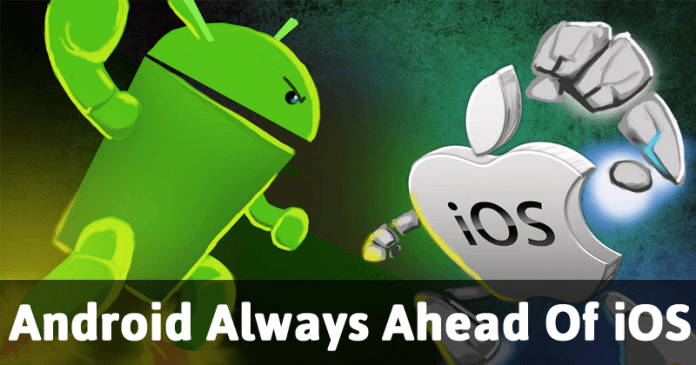 Android Continues To Have More Loyal Users Than iOS