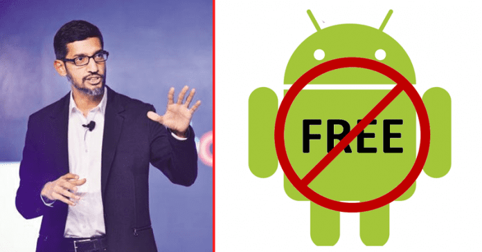 Google: Android Might NOT Remain FREE