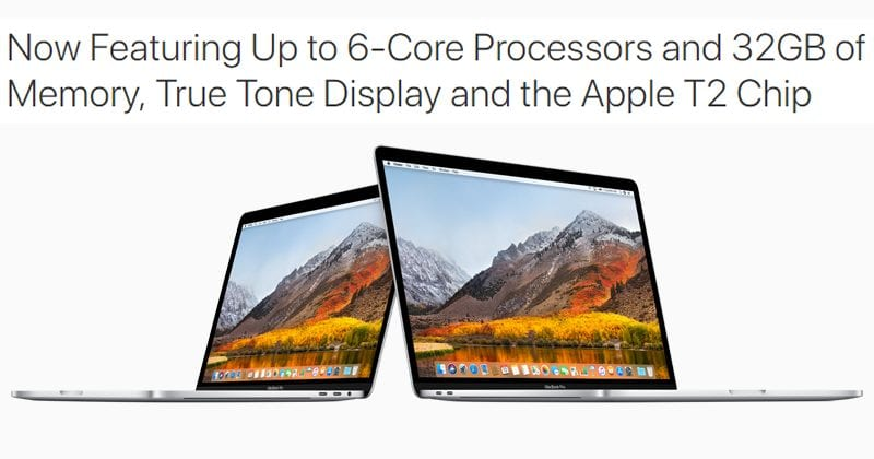 Apple Launches 2019 MacBook Pros: 8th Gen Core, 32GB Of RAM, Third-Gen Keyboard