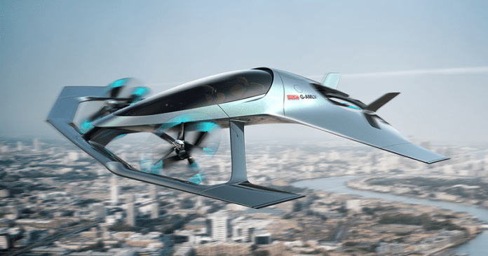 Aston Martin And Rolls-Royce Shows Off VTOL Flying Taxi Concepts