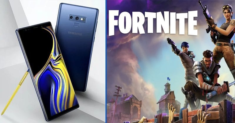 Fortnite For Android Will Be Exclusive To Samsung Galaxy Note 9