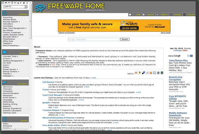free windows software downloads