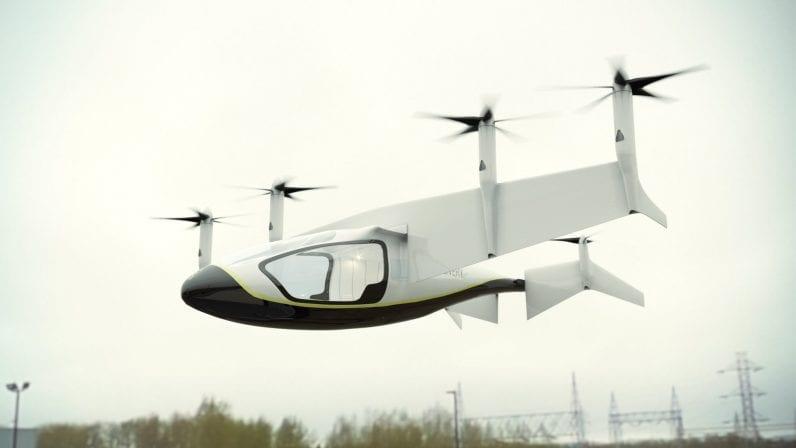 IMG 1 5 - Aston Martin And Rolls-Royce Shows Off VTOL Flying Taxi Concepts