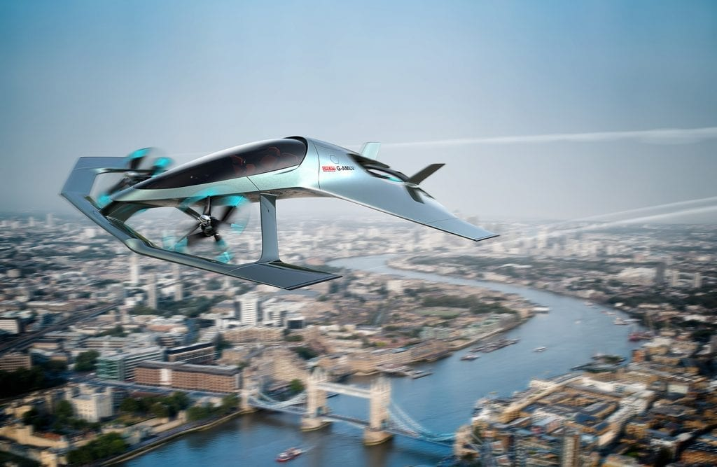 IMG 2 2 1024x667 - Aston Martin And Rolls-Royce Shows Off VTOL Flying Taxi Concepts