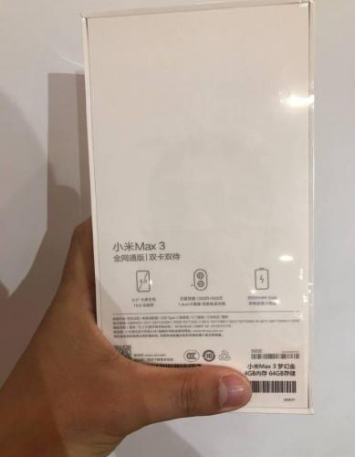 IMG 4 1 - Xiaomi Mi Max 3 Display And Battery Confirmed, Other Specs Leaked