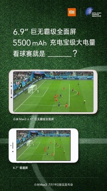 IMG 6 - Xiaomi Mi Max 3 Display And Battery Confirmed, Other Specs Leaked