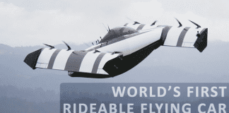 Meet The World's First Rideable Flying Car