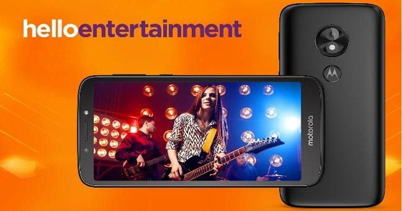 Moto E5 Play Android Go Edition Announced With 18:9 Display