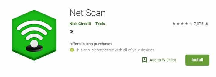 Using NetScan