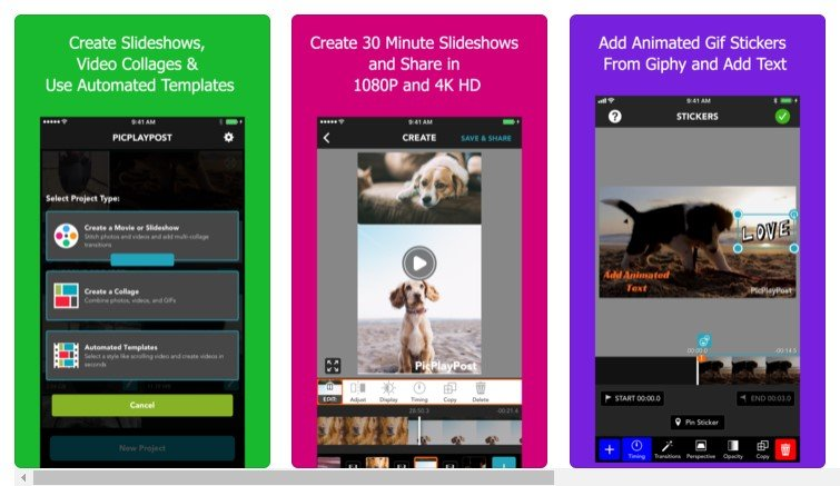 Video editing apps for iPhone
