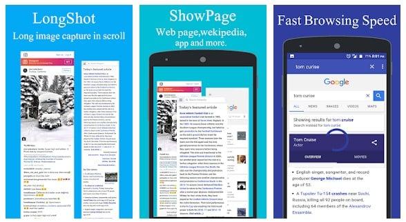Web Scroll Webpage