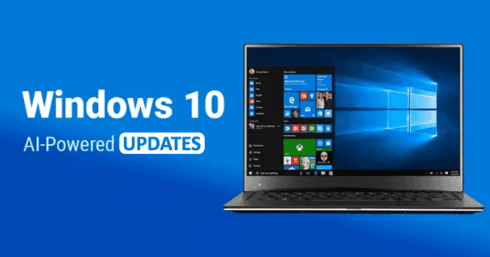 Windows 10 Now Uses AI To Stop Updates Installing When A PC Is In Use