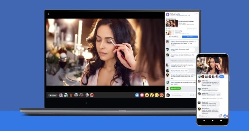 WoW! Facebook's New Live Video Feature Turns Groups Into 'Parties'