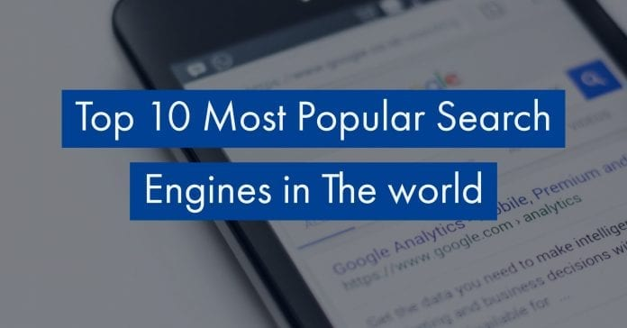best search engines 2018