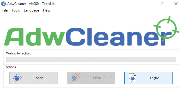 Use AdwCleaner