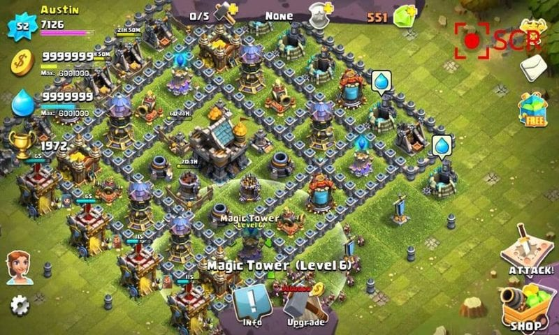 games like clash of clans online