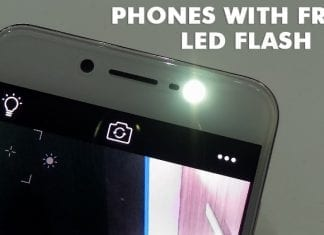 Top 5 Best Android Mobile Phones with Front LED Flash 2019
