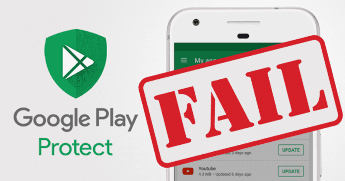 Google Play Protect Ranked Worst Antivirus Tool