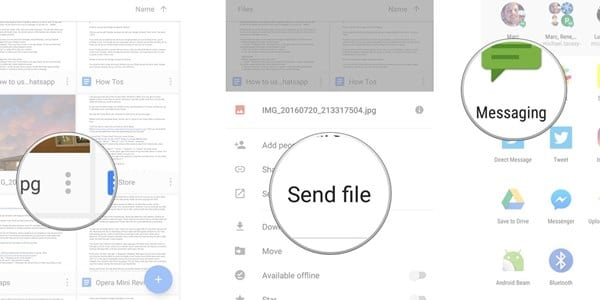 Como enviar arquivos grandes do Android