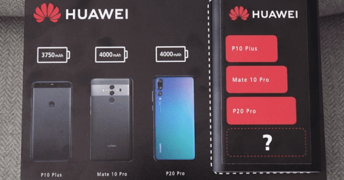 Huawei Teases Biggest Battery Yet For The Mate 20 Pro