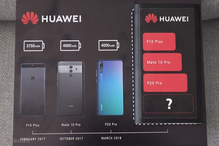 IMG 1 2 - Huawei Teases Biggest Battery Yet For The Mate 20 Pro