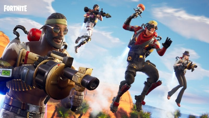 New Fortnite Soaring 50s Mode Takes to the Skies
