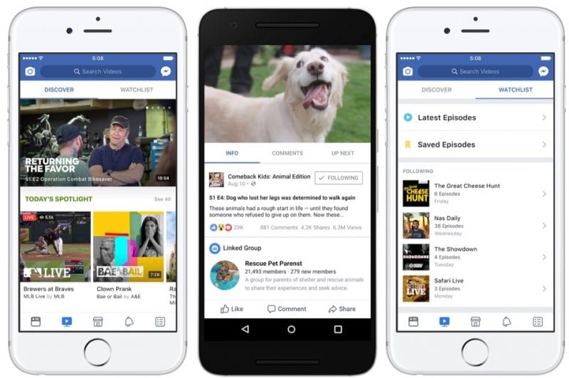 IMG 8 1 - Facebook Rolls Out Watch Video Service Globally To Rival YouTube