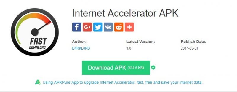 Internet Accelerator - Top 20 Best Apps to Increase Internet Speed In Android