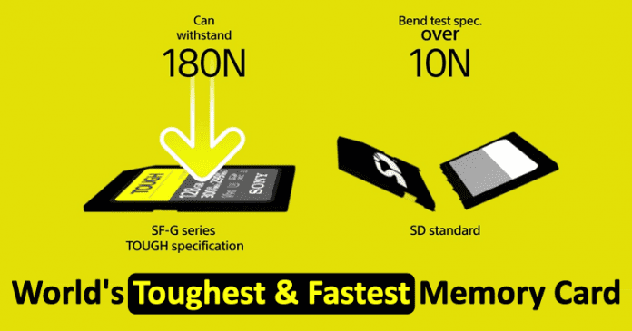 Meet The World's Toughest & Fastest SD Memory Card
