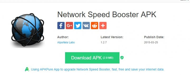 Network Speed Booster - Top 20 Best Apps to Increase Internet Speed In Android