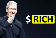 OMG! Apple's Rally Makes CEO Tim Cook $120 Million Richer
