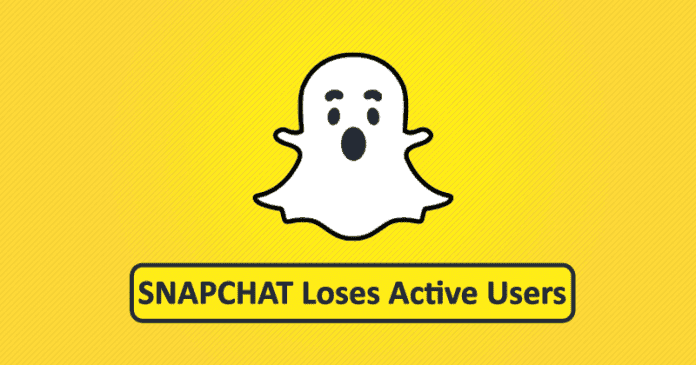 OMG! Snapchat Loses Huge Number Of Active Users For The First Time