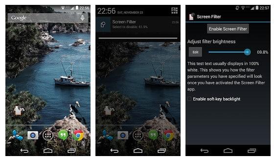 blue light filter app