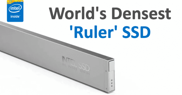 Intel: This 'Ruler' SSD Is World's Densest