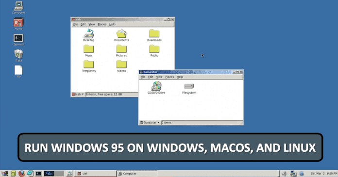 WoW! You Can Now Run Windows 95 On Windows, macOS, And Linux