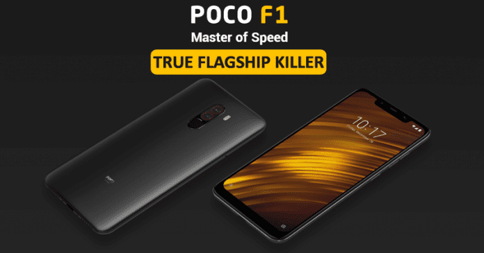Xiaomi Poco F1 - Meet The Most Affordable Flagship Killer