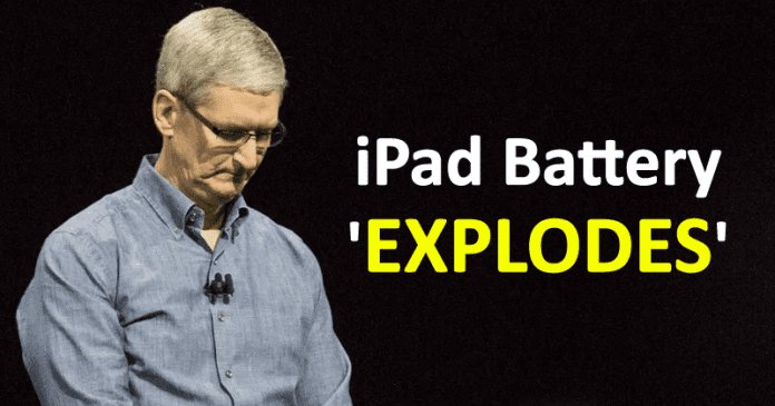 iPad Battery Explosion Forces Apple To Evacuate Its Retail Store