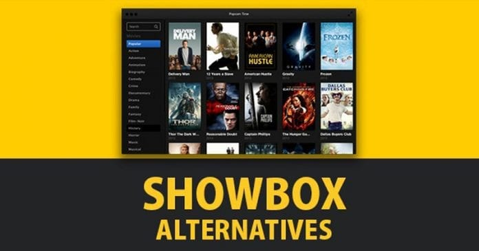 Showbox Alternatives 2019