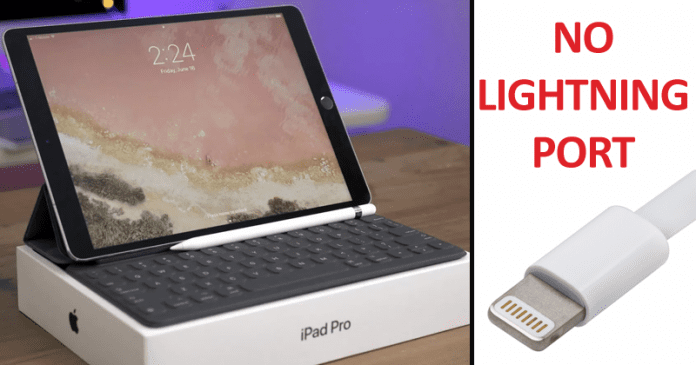 Apple's Next iPad Pro To Ditch The Lightning Port For USB-C