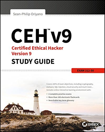Certified Ethical Hacker Version 9 Study Guide