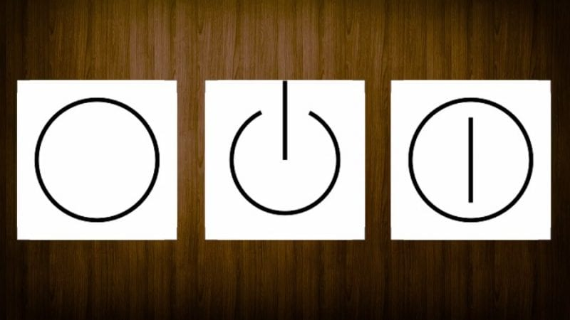 Ever Wondered Why Does The Power Symbol Have This Shape - Ever Wondered Why Does The Power Symbol Have This Shape?