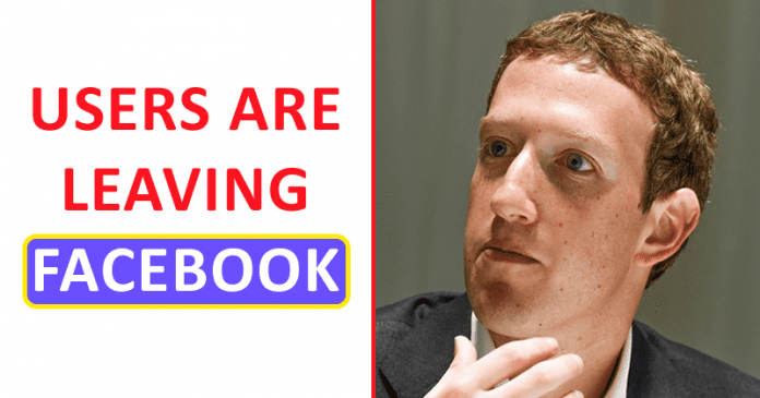 Facebook Dramatically Losing Its Users