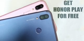Here's How You Can Win The All-New Honor Play For Free