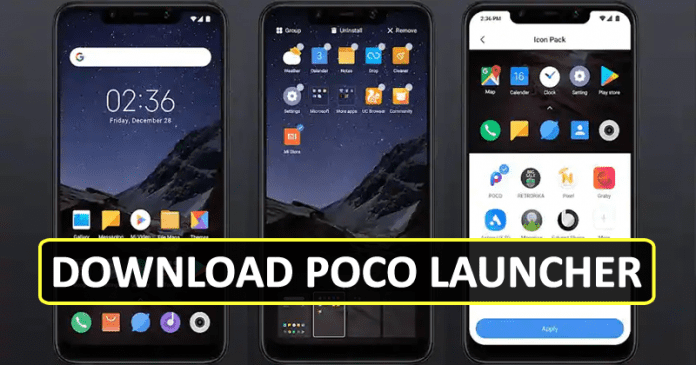 Get The Pocophone F1's Poco Launcher Right Now