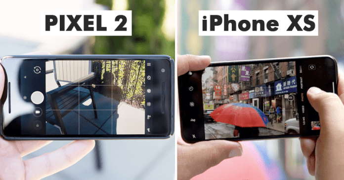 Google Pixel 2's Camera Surprisingly Beats The Brand New iPhone XS